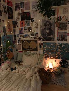 Room Design Bedroom, Room Ideas Bedroom, Bedroom Decor, Bedroom Inspo, Indie Room Decor, Cute Room Decor, Indie Bedroom, Teen Bedroom, Chill Room