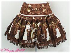 AP Chess Chocolate skirt (brown)