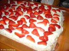 Recept - Rice Krispies Tårta