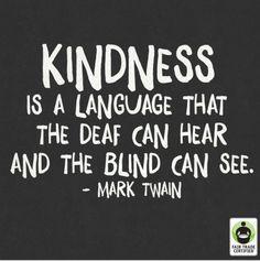 Be kind, always
