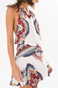 vestido bolinhas rapisode | FARM Vestidos Farm, Summer Outfits, Summer Dresses, Trendy Dresses, Look Fashion, Ideias Fashion, Farm Rio, Cover Up, Plus Size