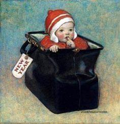 New Year's Baby, Jessie Wilcox Smith