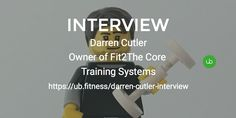 UB Fitness had the pleasure of interviewing @Darren Darren Cutler, owner of Fit2The Core Training Systems.  Darren's a business owner whose company offers scientifically informed training methods to promote safe and effective exercise. 👊🏻😎   No spoiler alert - read Darren's inspiring story here: https://lnkd.in/bb7gpZ2. _____________________________________________ Drop me a message if you know someone who has a story to tell and would like to be featured.
