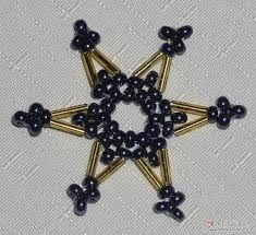 Výsledek obrázku pro hvezda z koralku navod