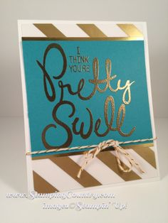 Big on You stamps, Card, Stampin' Up!