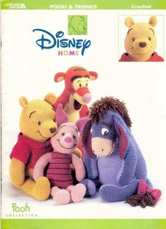 Amigurumi -- Pooh and friends - Poncho - Picasa Webalbum