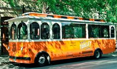 Hop aboard the bright orange Winnipeg trolley bus, inspired by vehicles of old, and take a tour of the city. Oh The Places You'll Go, Cool Places To Visit, Travel Sights, Backyard Plan, Win A Trip, Roadside Attractions, Canada Travel, Dream Vacations, Trip Planning