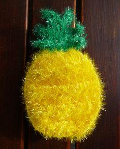 Eine Ananas aus Creative Bubble Schwammgarn