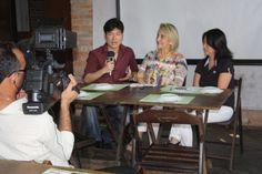 Evento no Quintal do Espeto - Moema entrevista sobre o mercado de intercâmbio e suas possibilidades