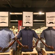"METRO DEPARTMENT STORE, The Centre Point, Singapore, ""Straight?, Slim? or Classic?"", photo by Creative Download, pinned by Ton van der Veer"