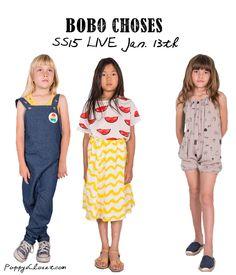 Bobo Choses SS15 coming soon... // poppyscloset.com