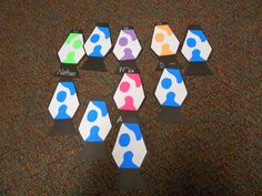 Lava Lamp Door Decs
