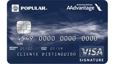 American Airlines / AAdvantage® Visa Signature | Banco Popular