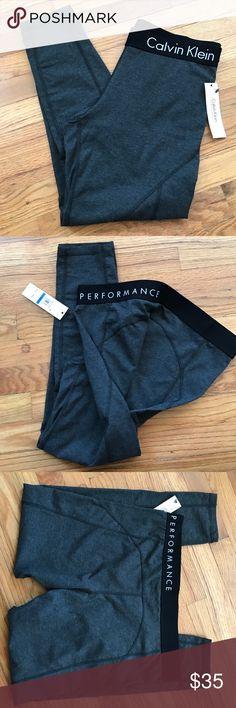 price drop CK performance legging Dark heather grey CK performance legging Calvin Klein Pants Leggings
