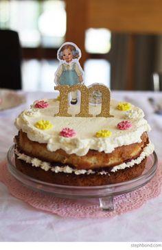 Bondville: 3rd vintage toy birthday party cake