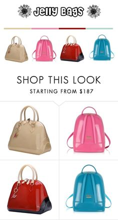 """Jelly bags"" by fashionbylexi ❤ liked on Polyvore featuring Furla"