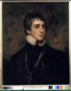 William Lamb, 2nd Viscount Melbourne, 1796, John Hoppner, Royal Collection Trust. An example of an 'Eton leaving portrait': a depiction of a distinguished boy given to his tutor (usually after having been specifically requested). The future Prime Minister is here shown in the mock Tudor or Jacobean dress associated with the Etonian festival of 'Montem', when the boys dressed up and went to frolic on a small hill (now part of Slough) - 'ad montem' means 'to the mountain' in Latin.