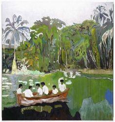 Canoe-Lake, 1997-98 이 그림 기억나는지? 이 년전 봄 남쪽으로 여행떠나기 전에 올렸던 그림이다 우르릉...