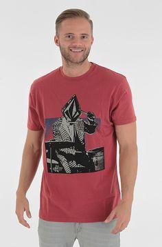 Volcom Wigwam Volcom-Entertainment t-paita Lumber Jack Red 27,90 € www.dropinmarket.com