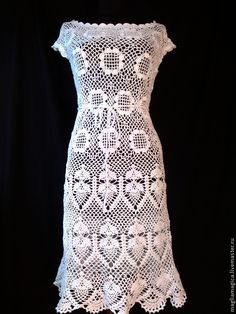 the first spring flowers crochet dress