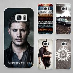 Supernatural Hard White Coque Shell Case Cover Phone Cases for Samsung Galaxy S4 S5 S6 S7 Edge Plus