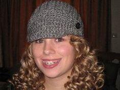 Sue's Fleece-Lined Brimmed Hat, free pattern