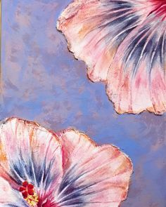 Hibiscus flower painting, Oil on canvas, Abstract painting, Wall design, Contemporary art by AvangArte on Etsy Hibiscus Flowers, Wall Design, Oil On Canvas, Contemporary Art, My Arts, Abstract, Handmade Gifts, Canvas Ideas, Acrylics