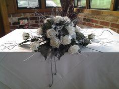 Poly foam ceremony / top table arrangement