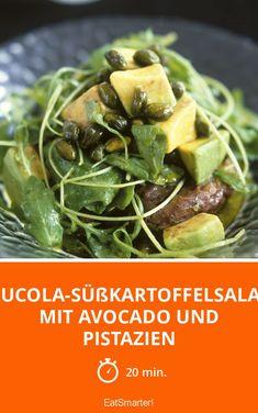 Rucola-Süßkartoffelsalat mit Avocado und Pistazien - smarter - Zeit: 20 Min. | eatsmarter.de
