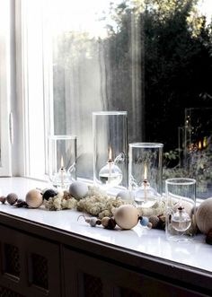 Pretty christmas - part 1 Christmas Mood, Modern Christmas, Scandinavian Christmas, Christmas Ideas, Christmas Decorations, Table Decorations, Holiday Decor, Advent Candles, Christmas Inspiration