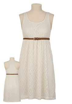 I want to get this dress and pair it with some brown sandals. Very simple and pretty.