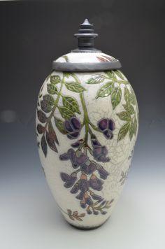 Strictly Functional Pottery National 2012 Exhibit Page Ceramic Jars, Ceramic Pitcher, Glass Ceramic, Ceramic Clay, Ceramic Painting, Rookwood Pottery, Raku Pottery, Kintsugi, Ikebana