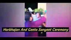 Watch Video Harbhajan Singh And Geeta BasraS Dance in Sangeet Ceremony