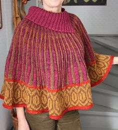 Ravelry: Project Gallery for Rio Capelet pattern by Sandy Cushman