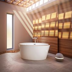 Beautiful Charism 5736 #bathtub by @BainUltra! See all the therapeutic and design possibilities here : http://www.bainultra.com/therapeutic-baths/our-collections/charism