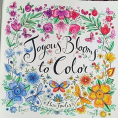 Testing Out My Pencils By Hazel Smithies Joyousbloomstocolor Elerifowler