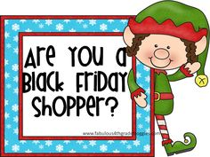 Fabulous 4th Grade Froggies: Are you a Black Friday shopper? Clipart bargains and more!