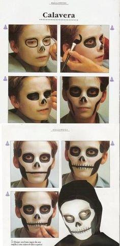 Halloween-inspired DIY Makeup tutorials