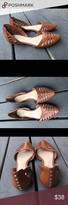 JESSICA SIMPSON flats barely worn like new ! Practically new ! Jessica Simpson Shoes Flats & Loafers