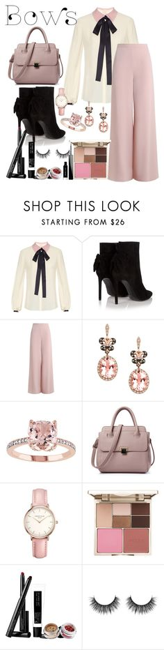 """Untitled #694"" by ashantay87 ❤ liked on Polyvore featuring Roksanda, Yves Saint Laurent, Zimmermann, Effy Jewelry, Topshop, Stila, Pat McGrath and Givenchy"