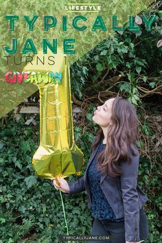 Typically Jane turns one and celebrates with a giveaway!