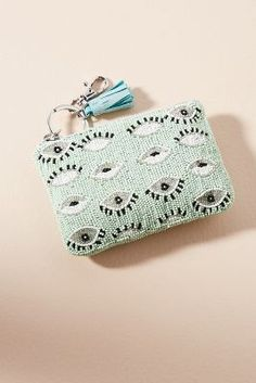 Anthropologie Eye See You Pouch