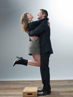 Hilary Swank & GERARD BUTLER - P. S. I love you directed by Richard LaGravenese (2007) #love #ny Novel by Cecelia Ahern