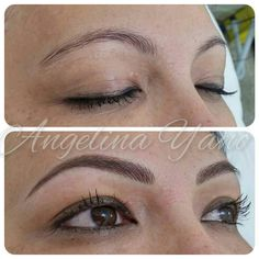 Eyebrows, hairstroke
