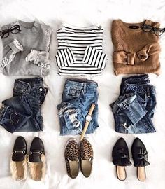 casual outfit flatlay Source by Outfits weekend Mode Outfits, Casual Outfits, Fashion Outfits, Womens Fashion, Fashion Trends, Fall Winter Outfits, Autumn Winter Fashion, Spring Outfits, Look Office