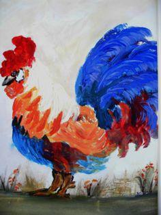 ART ARTWORK ORIGINAL Acrylic Painting  Blue by darinecraftyshop, £30.00