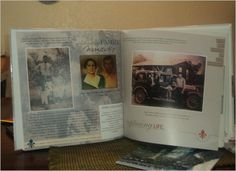 Found this on Shutterfly's FB page - a Family History Book...What a MARVELOUS idea!!! Must do!