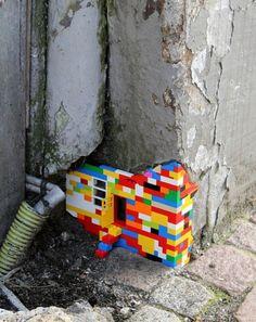 #lego #streetart