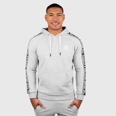 adidas - Men's Essentials Hoodie (Medium Grey Heather)