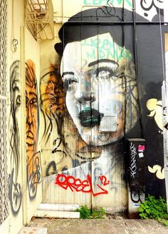 Rone, imaginative street art, graffiti art, street artists, urban murals, urban art, mr pilgrim art.